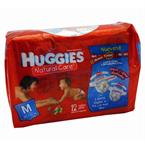 Foto HUGGIES NATURAL CARE BENETTON MEDIANO 12UN de