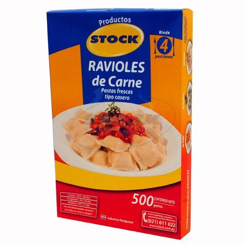Foto RAVIOLES STOCK X 500 GR CARNE de