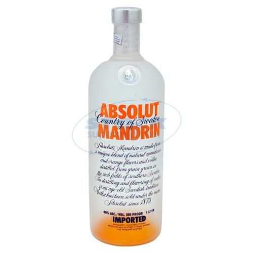 Foto VODKA ABSOLUT BOT 1000 ML MAND de