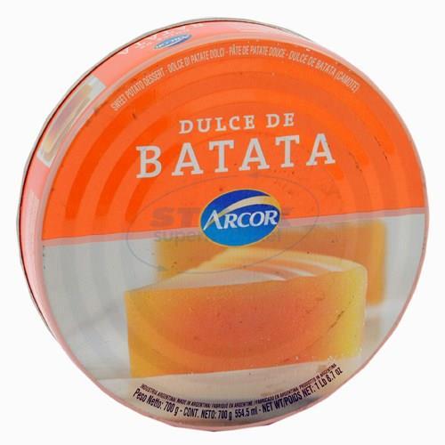 Foto Dulce de batata ARCOR lata 600 gr. de