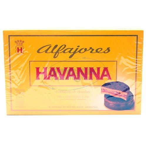 Foto ALFAJOR HAVANNA CHOCOLATE 6 UN de