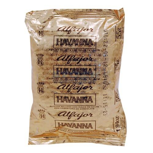 Foto ALFAJOR HAVANNA FLOW PACK CHOC de
