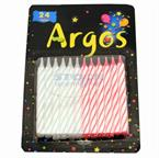 Foto VELAS ARGOS CUMPLE CLAS DISPLAY X24 de
