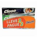 Foto PASTA DENTAL CLOSE UP LLEVE 3 PAGUE 2 X 90 GR de