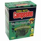 Foto YERBA MATE CAMPESINO HIERBAS NATURALES DE 250 GRAMOS de