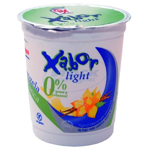 Foto YOGURT XABOR LIGHT VAINIL 350GR de