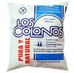 Foto LECHE ENTERA LOS COLONOS 500CC SACHET de