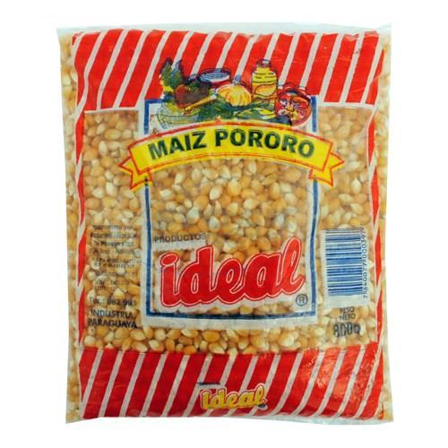 Foto MAIZ IDEAL BOLSA 800 GR PORORO de