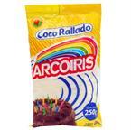 Foto COCO RALLADO ARCO IRIS PAQUETE 250 GR de
