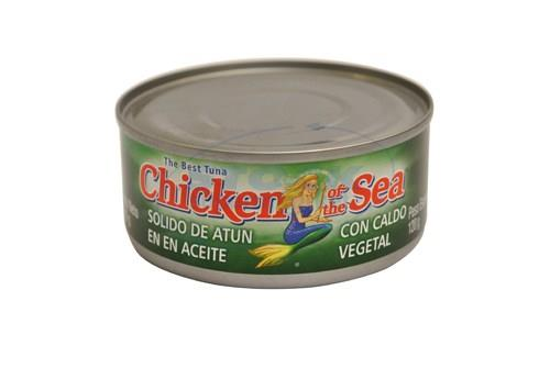 Foto ATUN SOLIDO EN ACEITE 170GR CHICKEN OF THE SEA LAT de