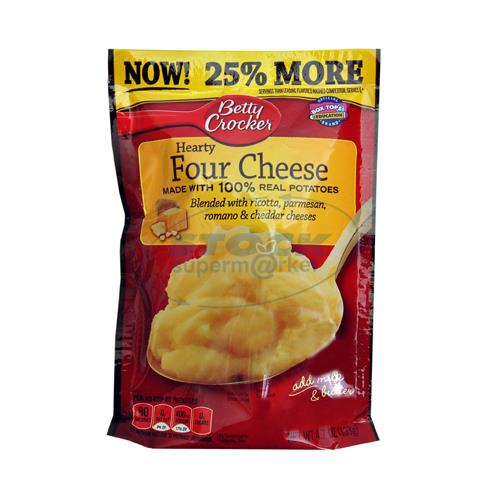 Foto PURE DE PAPA MASHED POT HEARTY FOUR CHEESE 133 GR BETTY CROCKER CJA de