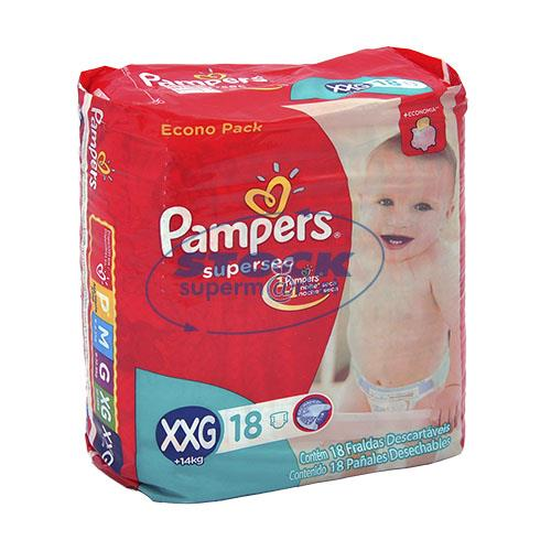 Foto PAÑAL SUPERSEC XXG 18UND PAMPERS PAQ de