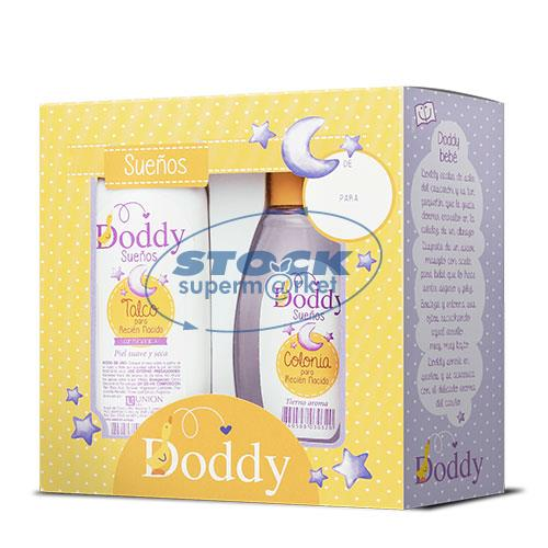 Foto  PACK COLONIA 125ML/TALCO 120GR SUEÑOS DODDY de