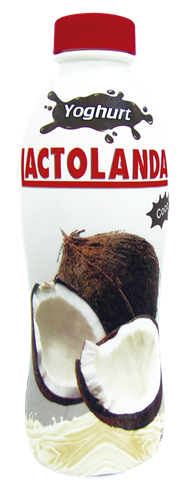 Foto YOGURT LACTOLANDA BEBIBLE ENTERO COCO BOTELLA 900GR de
