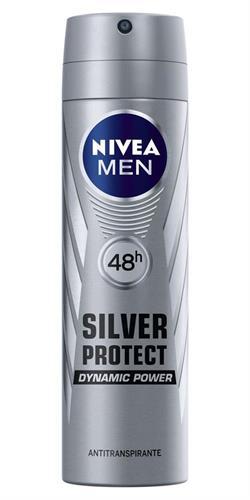 Foto DESODORANTE NIVEA SILVER PROTEC AER150 ML FOR MEN de