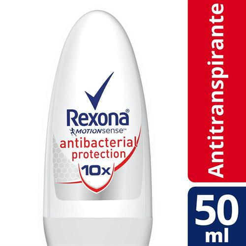 Foto DESODORANTE ANTITRANS ANTIBACTERIAL 50ML REXONA ROLL ON de