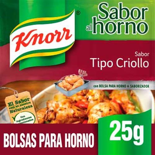 Foto SAZON POLLO TIPO CRIOLLO 25G KNORR PAQ de