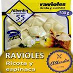 Foto RAVIOLES D/RICOTA Y ESPINACA 500GR ALBERDIN PAQ de