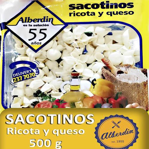 Foto SACOTINOS D/RICOTA Y QUESO 500GR ALBERDIN PAQ de