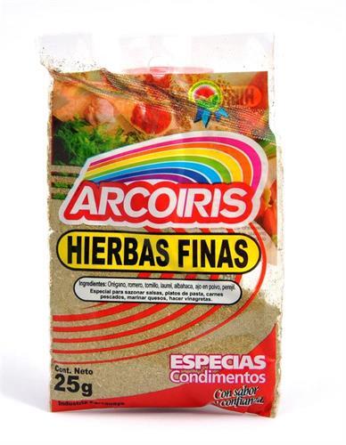 Foto HIERBAS FINAS 25GR ARCOIRIS SOB de
