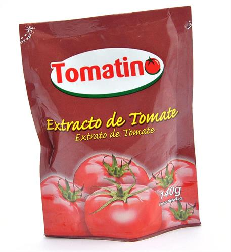 Foto EXTRACTO DE TOMATE 140GR TOMATINO DOYPACK de