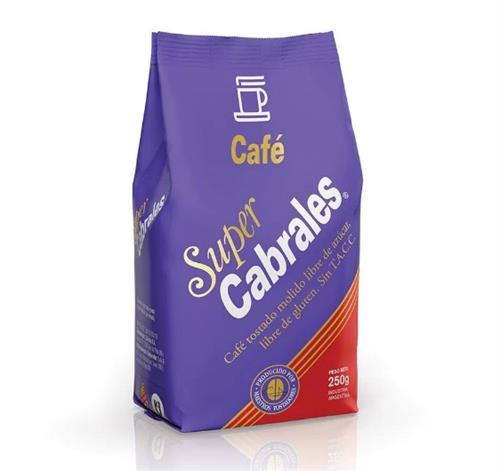 Foto CAFE MOLIDO 250GR SUPER CABRALES PLA de