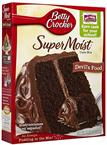 Foto MEZCLA SUPERMOIST CAKE MX CHOCOLATE FUDGE 432 GR BETTY CROCKER CJA de