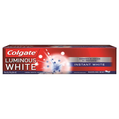 Foto CREMA DENTAL LUMINOUS WHITE INSTANT 90GR COLGATE CJA de