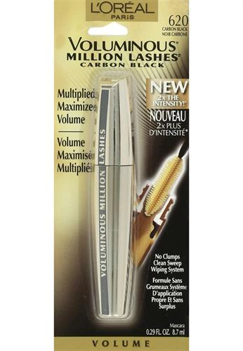 Foto MASCARA P/PESTAÑA VOL MILLION CARBON BLACK 8.7ML LOREAL de