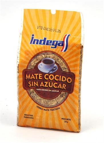 Foto MATE COCIDO S/AZUCAR 25 GR INDEGA BSA de