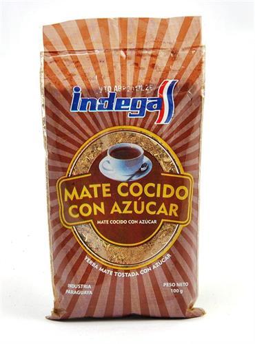 Foto MATE COCIDO C/AZCAR 100 GR INDEGA BSA de
