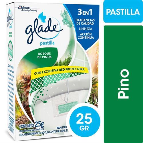 Foto PASTILLA P/INODORO BOSQUE DE PINOS 25GR GLADE CJA de