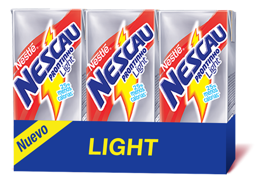 Foto BEBIDA LACTEA NESCAU SABOR CHOCOLATE LIGHT 200ML TETRA  de