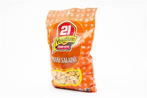 Foto Maní salado 21 300 gr. de