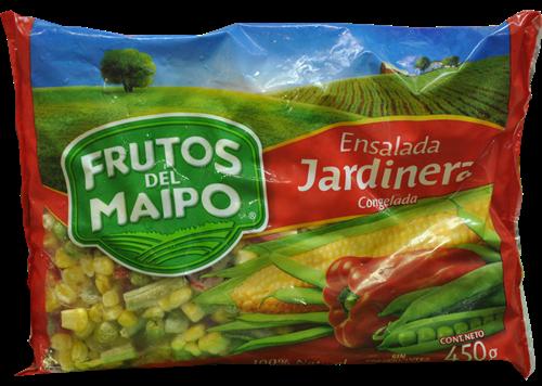 Foto ENSALADA JARDINERA 450GR FRUTOS DEL MAIPO PAQ de