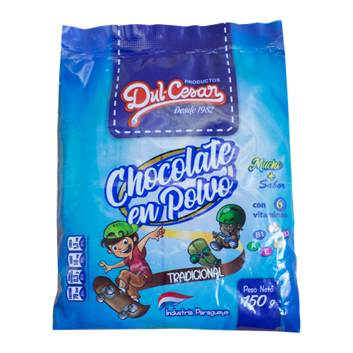 Foto CHOCOLATE EN POLVO 150GR DULCESAR BSA de