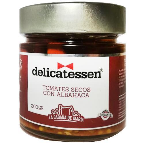 Foto Tomate seco DELICATESSEN con albahaca 190 gr. de