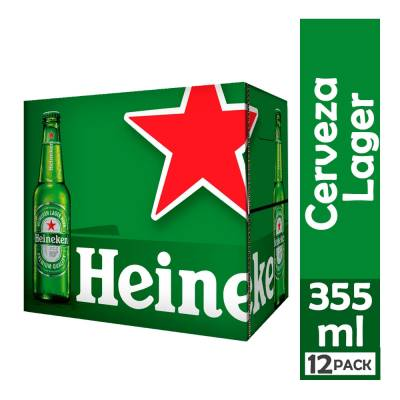 CERVEZA LAGER 12UNDX650ML HEINEKEN CJA