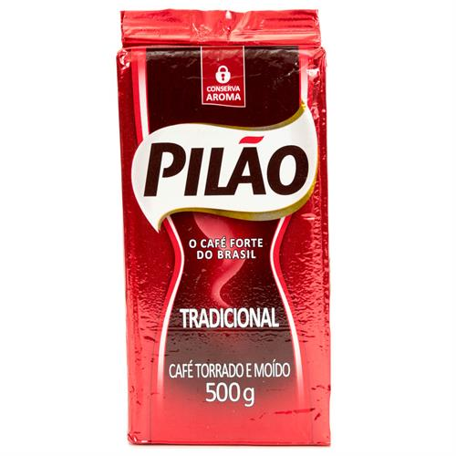 Foto CAFE MOLIDO TRADICIONAL 500GR PILAO PAQ de