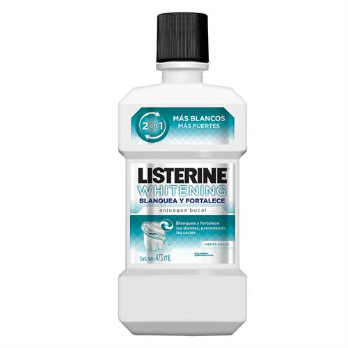 Foto ENJUAGUE BUCAL LISTERINE WHITENING 2 EN 1 473ML de