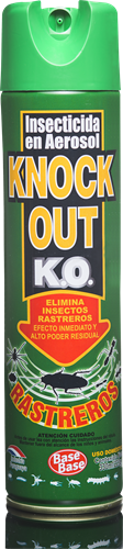 Foto INSECTICIDA RASTREROS 330ML KNOCK OUT AER de