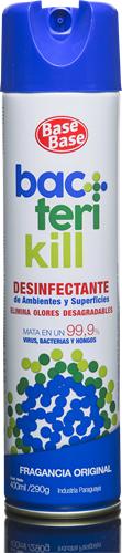 Foto DESINFECT. DE AMB. ORIGINAL BACTERIKILL 400ML BASE BASE AER de