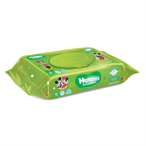 Foto HUGGIES TOALLA ACT FRESH F 48U de