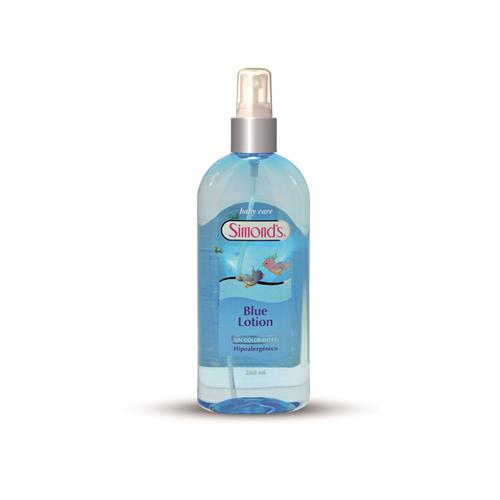 Foto COLONIA D/BEBES BLUE LOTION S/COLOR 260ML SIMONDS AER de