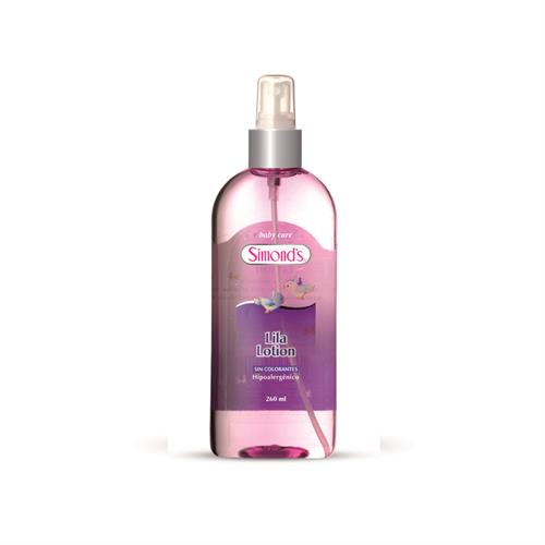 Foto COLONIA LILA LOTION 260ML HIPOALERGENICO SIMONDS PLAS de