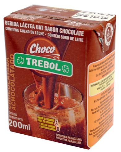 CHOCOLATADA TREBOL TETRA BRIK 200ML