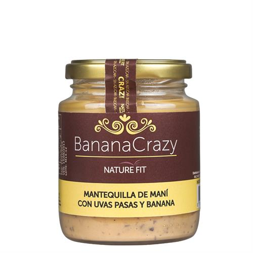 Foto MANTEQUILLA MANI BANANA CRAZY 220GR NATURE FIT de