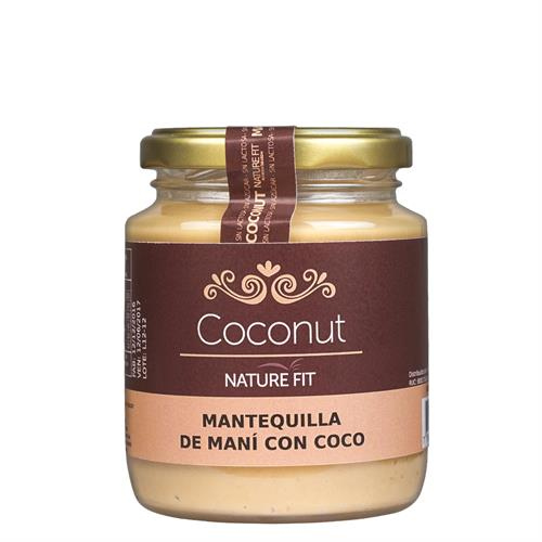 Foto MANTEQUILLA MANI COCONUT 220GR NATURE FIT de