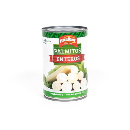 Foto PALMITOS ENTEROS 400GR EXCELLENT LATA de