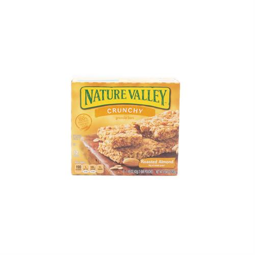 Foto CEREAL EN BARRA NATURE VALLEY GRAN BAR ROASTED ALMOND CJA 253 GR  de